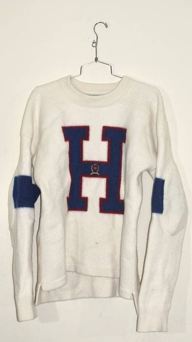 Tommy Hilfiger Varsity H Sweater Size L Sweaters Knitwear For