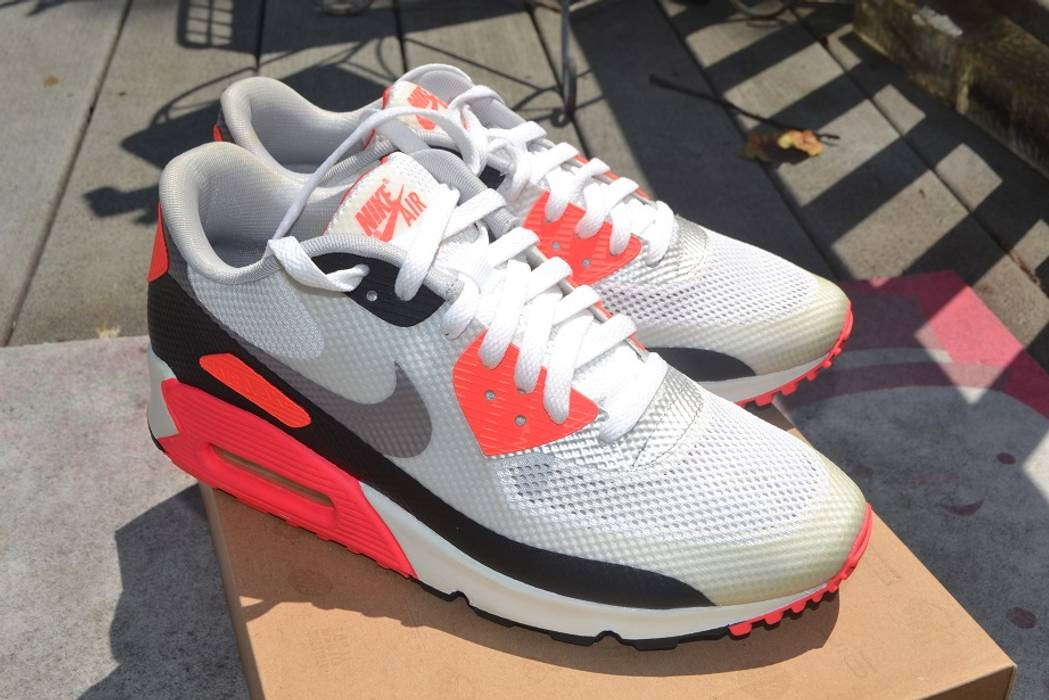 60eec68f6cbd Nike Nike Air Max 90 Hyperfuse Infrared Size 9 - Low-Top Sneakers ...