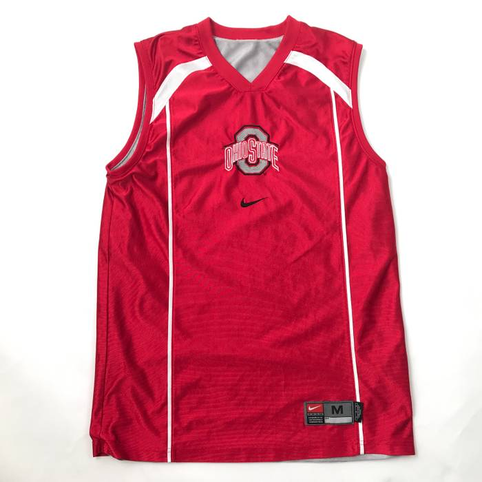 ed95af03beec Nike Nike Mens Basketball Jersey OHIO STATE BUCKEYES Sleeveless Size M  REVERSIBLE Size US M