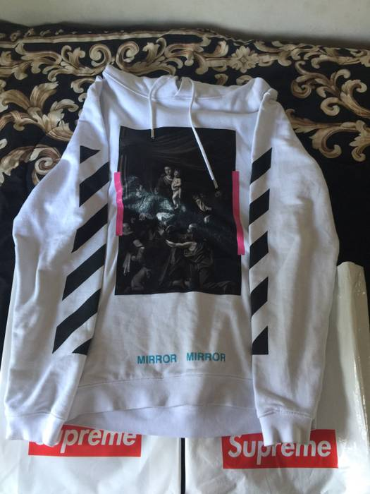 ce6c1884ed48 Off-White Off-White Caravaggio Hoodie Size l - Sweatshirts   Hoodies ...