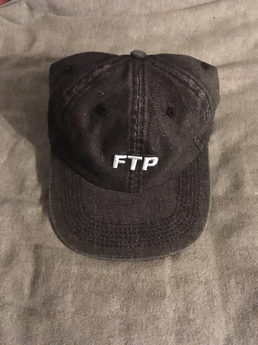 d60567c27a9 Fuck The Population FTP Black Denim Logo Hat Size one size - Hats ...