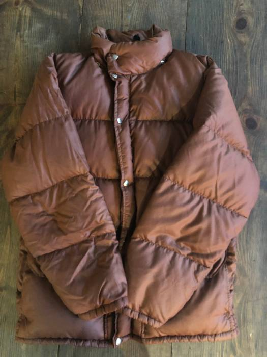 ac27b2a778 The North Face. The North Face Brown Label Rust Down Himalayan Puffer Jacket.  Size  US M ...
