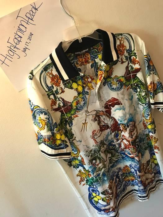 Dolce   Gabbana Zeus D G Polo Size l - Polos for Sale - Grailed a56e72c1901d