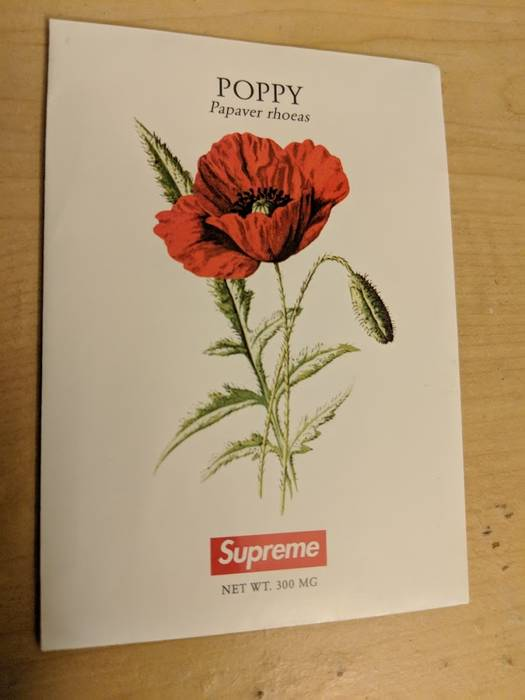 fe7eff9c3fff Supreme Poppy Seeds Size one size - Supreme for Sale - Grailed