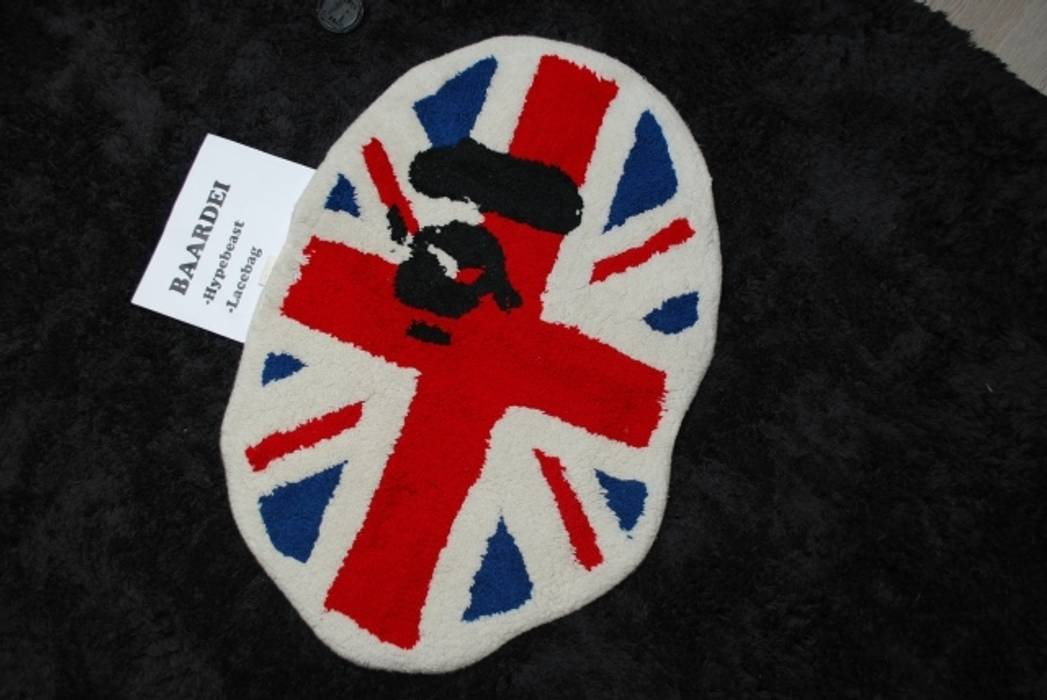 Bape Union Jack Rug Size One Size For Sale Grailed