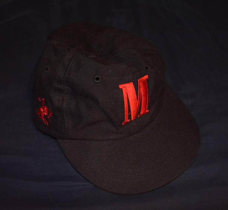 c4cdbbc0255 Vintage Vintage Marlboro Big Red M Horse Embroidered Logo 6-Panel Strapback  Hat Size ONE