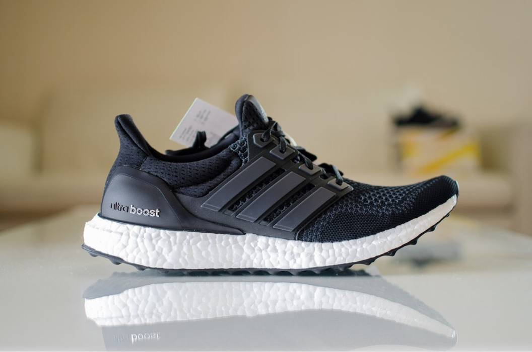 818f83c5d833 real adidas ultra boost core black 1.0 97664 06864