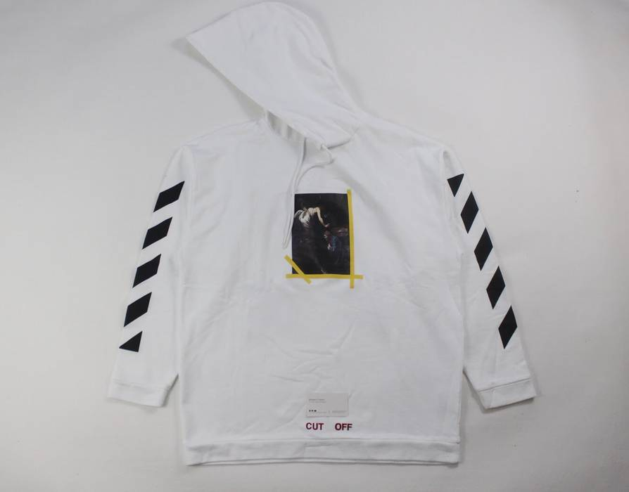 925b4ed8cf Off-White Off-White Annunciation Caravaggio Hoodie Size xs ...