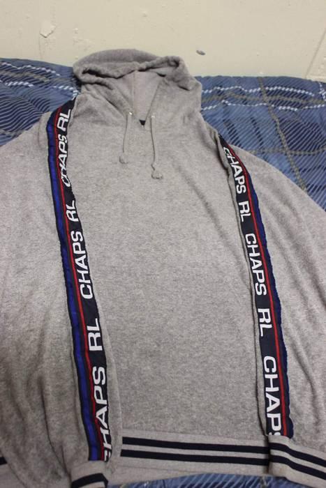 c18daabd949e0 Polo Ralph Lauren Ralph Lauren Chaps Branded Sleeve Terry Hoodie Size US XL    EU 56