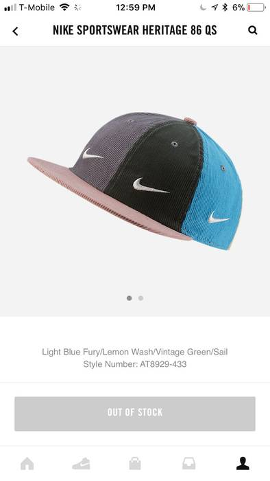 Nike Nike Sean Wotherspoon Hat Size one size - Hats for Sale - Grailed af8d93d65cfe