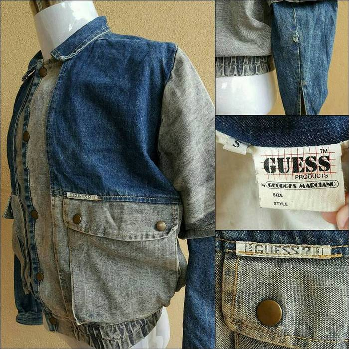 Guess Vintage Guess Georges Marciano Denim Jacket X Asap Rocky Us