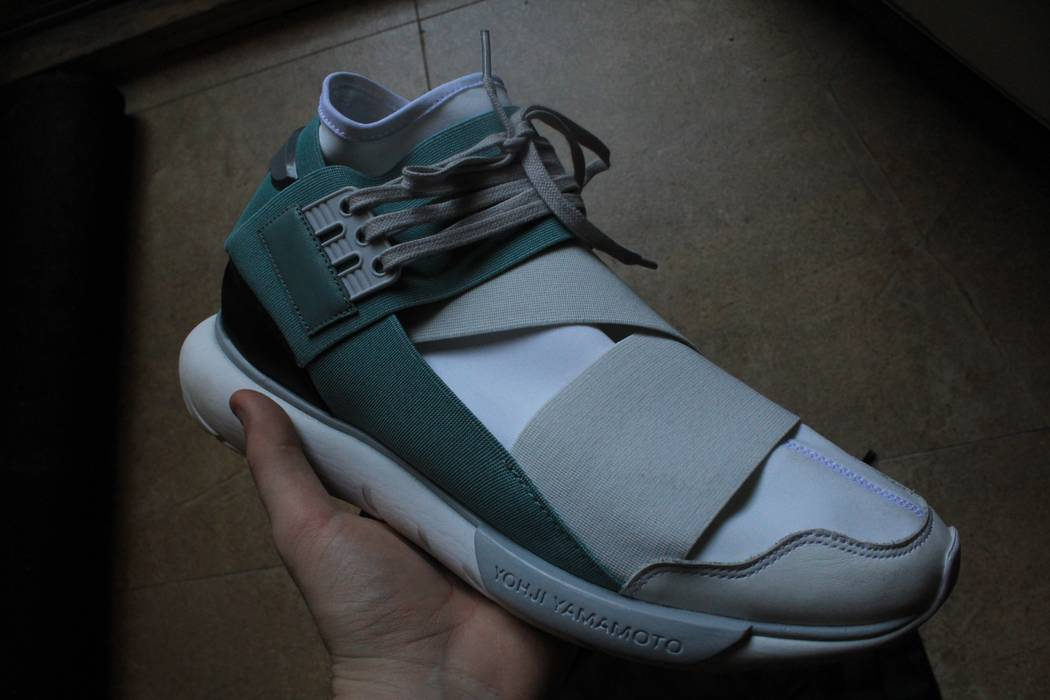 91b12c1707a7d Y-3 Y-3 Adidas Qasa Crystal Vapour White and Blue Size 10 US Men s ...