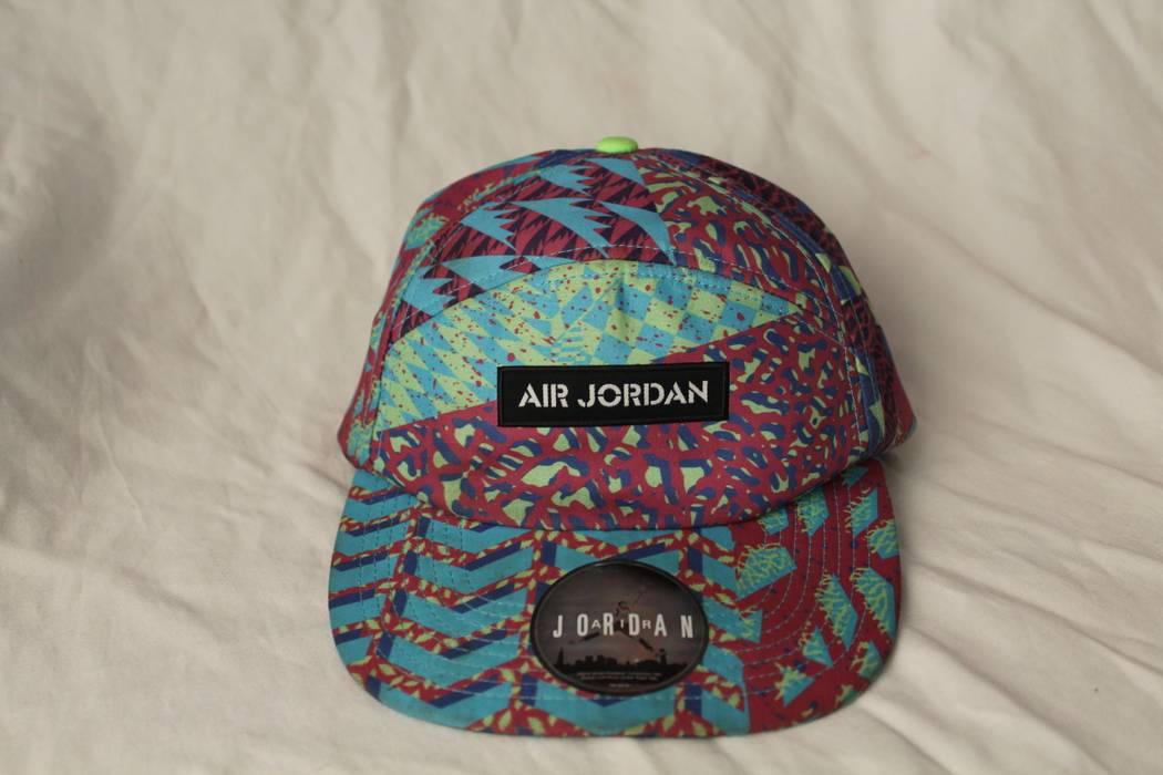 Jordan Brand rare Nike Air Jordan Retro Bel Air Fresh Prince 5 Panel  Adjustable Hat 576582 36128e4d3eb