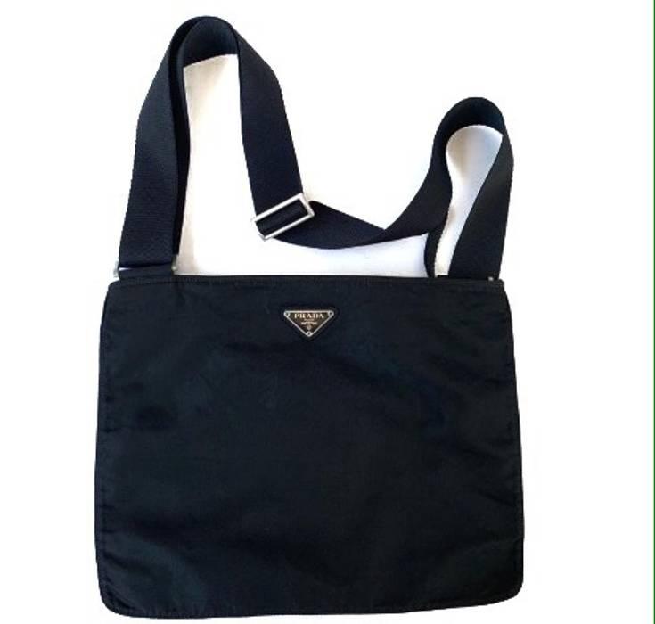 1d486bc3f63 ... purchase prada prada nylon sling bag messenger bag size one size ff1d7  24406