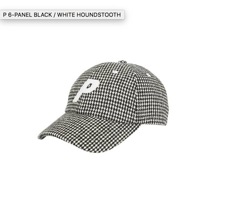 8df5bc74d1d Palace P 6-panel Black and White Houndstooth Size one size - Hats ...