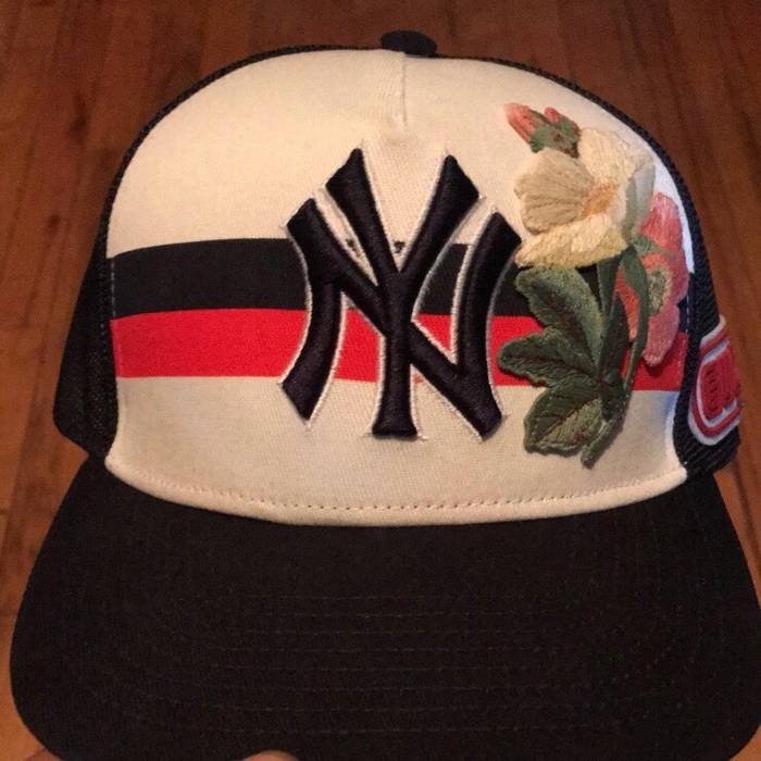 ac25b97efb91 Gucci Gucci Yankee Mesh SnapBack Hat Size one size - Hats for Sale ...