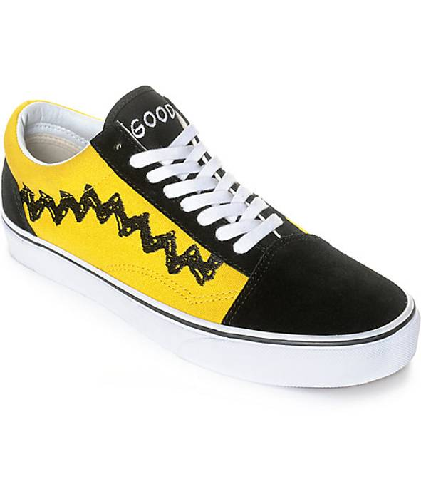 fe1a95542e3 Vans Vans x Peanuts Old Skool Charlie Brown Good Grief Size US 10   EU 43