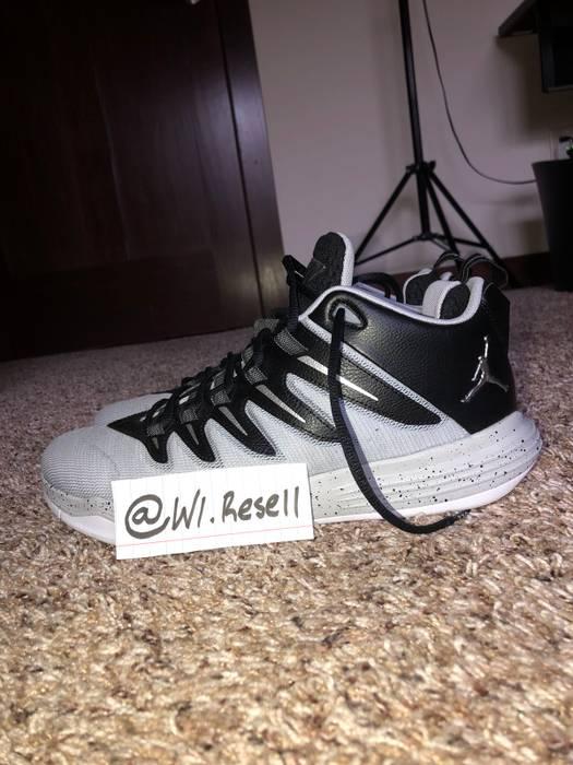 Jordan Brand Nike Air Jordan CP3 IX Chris Paul Black Silver Wolf ... 591d91fdc