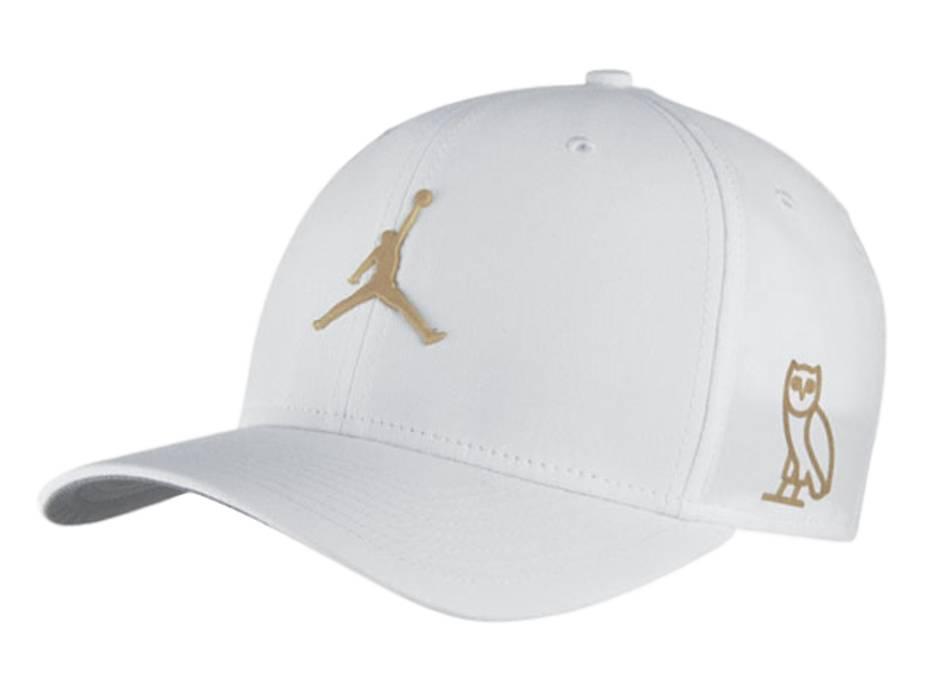 4736fcb2a71 ... denmark jordan brand jordan x ovo white gold adjustable hat size one  size 04fbb fd892
