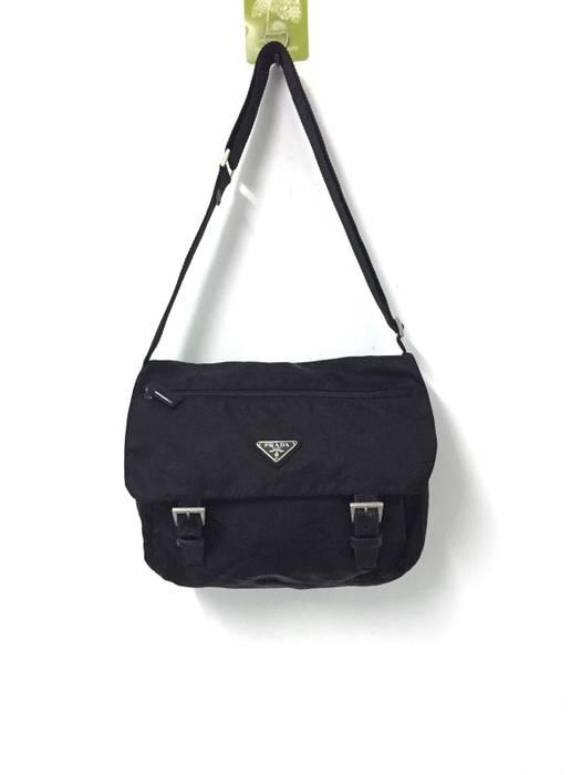 5fa038d0bff823 discount code for prada prada sling bag black lampo and opti zipper size  one size c3487