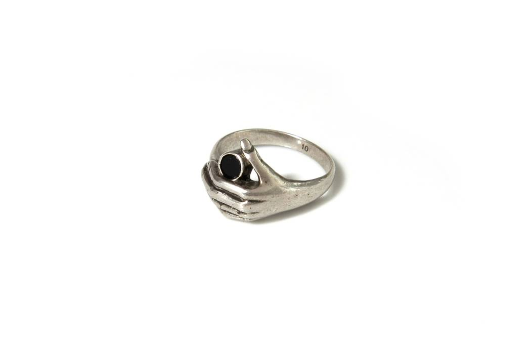 17944d9b9790 Saint Laurent Paris Saint Laurent Silver Wisdom Ring Size one size ...