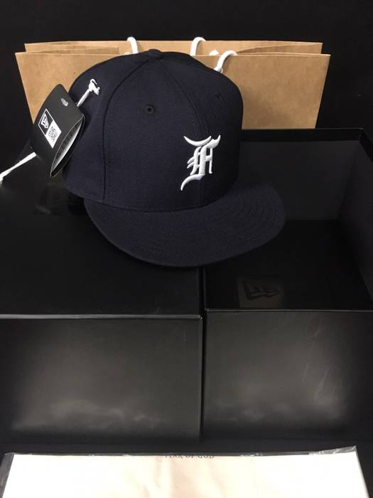 2ffbe444fa9 New Era Fear Of God X Newera Cap Size one size - Hats for Sale - Grailed