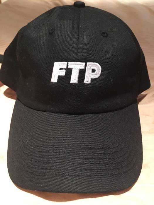 62337f165b9 Fuck The Population FTP Black Logo Hat Size one size - Hats for Sale ...