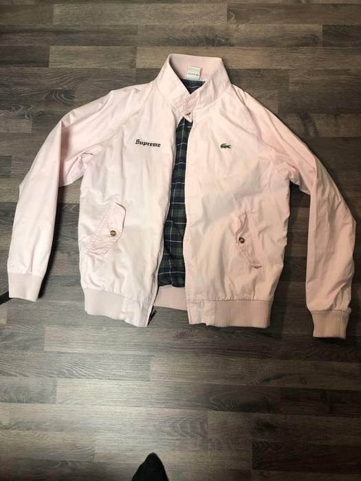 7ec04fbfc40bf Supreme Supreme x Lacoste Harrington Jacket Light Pink Size US M   EU 48-50