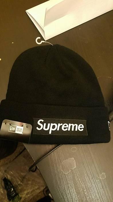 Supreme Supreme  New Era Box Logo Beanie FW 15 Size one size - Hats ... 6a3512190cb7