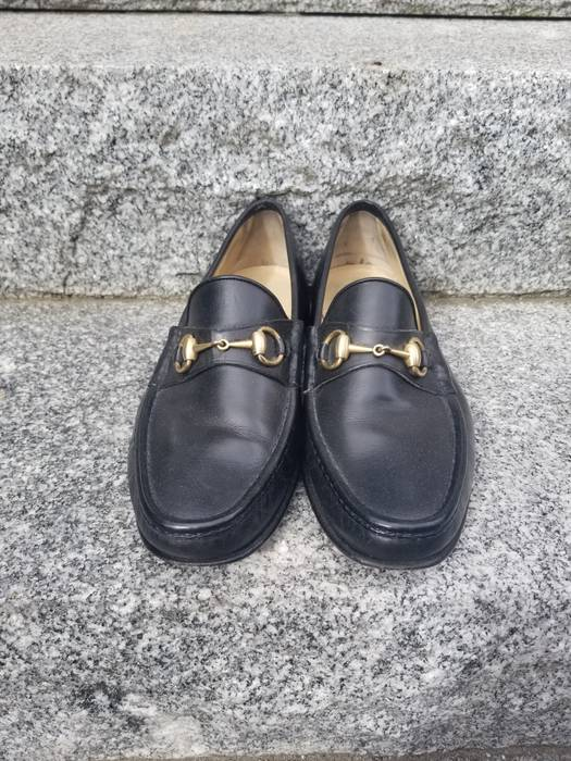 b786508ee38924 Gucci Black Gucci Horsebit Loafer Size 9 - Casual Leather Shoes for ...