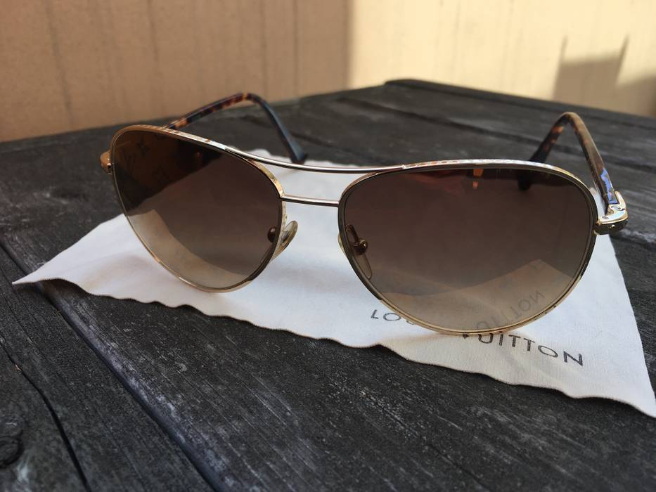 023febad4b Louis Vuitton Conspiration Pilote Size one size - Sunglasses for ...