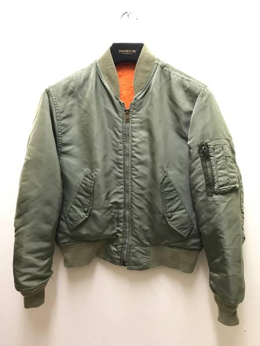 I Spiewak And Sons Reversible Ma 1 Jacket Vintage Bomber Jacket