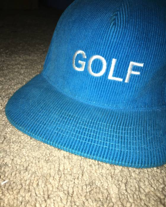 ba88af577df Golf Wang blue Golf corduroy hat Size one size - Hats for Sale - Grailed