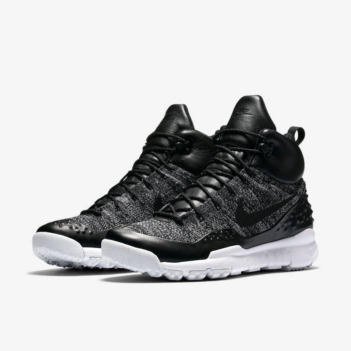 7f843848ee420 Nike NIKE LUPINEK FLYKNIT ACG MEN S SHOE - Black White (Oreo) Size ...
