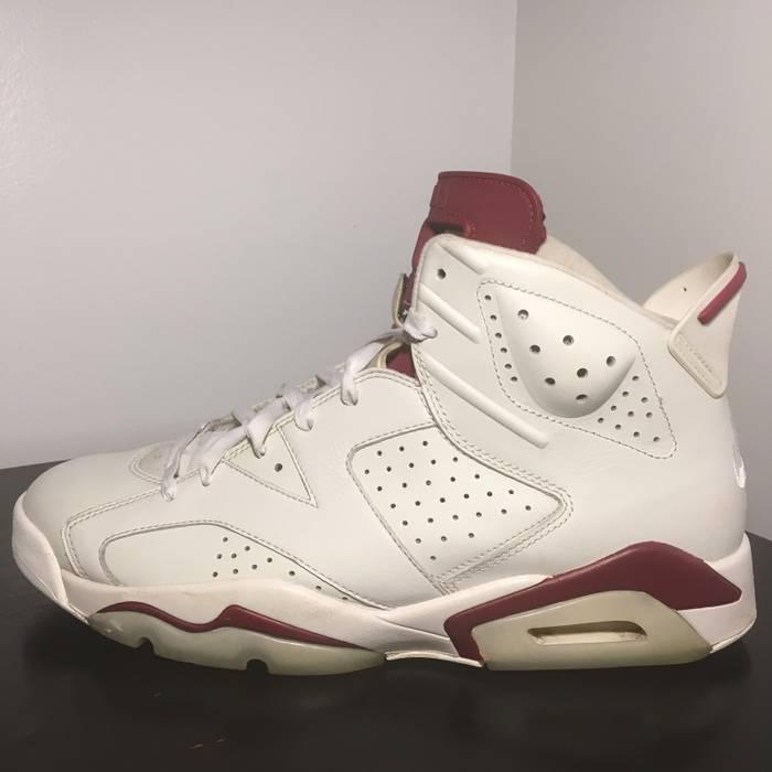 Nike Air Jordan Retro 6 Maroon Size 12 Size 12 - Hi-Top Sneakers for ... 3c11e46abc