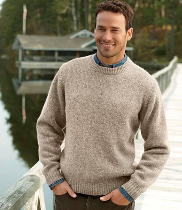 L.L. Bean NWOT Classic Ragg Wool Sweater Size m - Sweaters ... a675c2724e7
