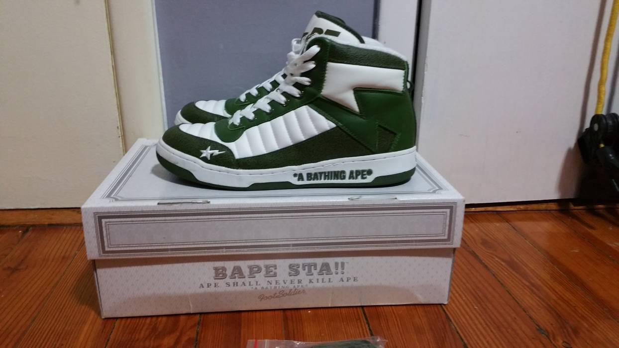 Bape Bathing Ape Bapesta 88 Size 10 used Size 10 - Hi-Top Sneakers ... 4426ebfe7