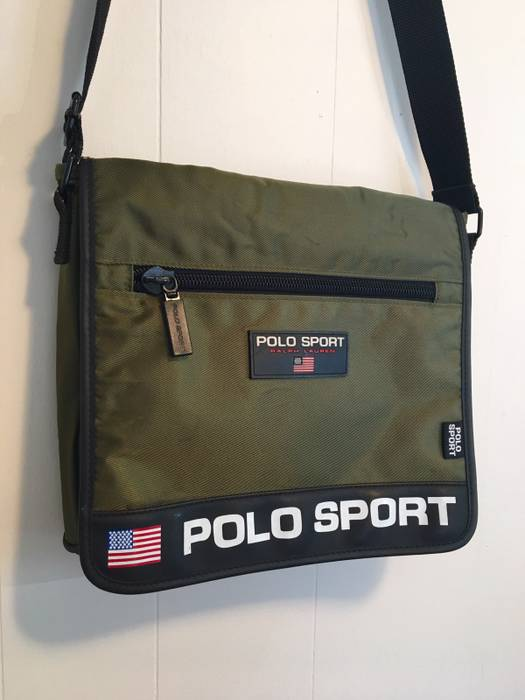 330ea9fff9ec ... coupon code for polo ralph lauren polo sport side bag messenger size  one size 2ef1a 1ac1b