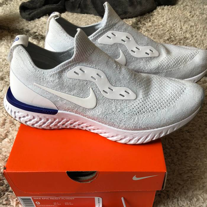 2f315a56c51e Nike Epic React Flyknit Size 9 - Low-Top Sneakers for Sale - Grailed