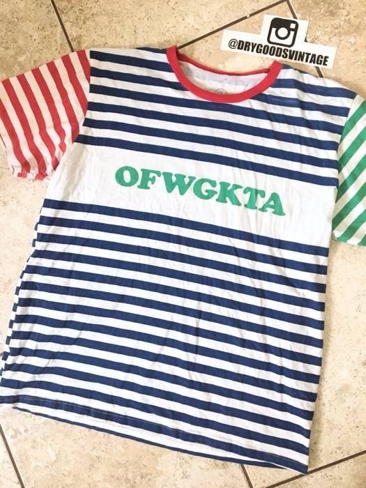 6845a75558cc Odd Future Multi Striped Logo Tee Size xl - Short Sleeve T-Shirts ...
