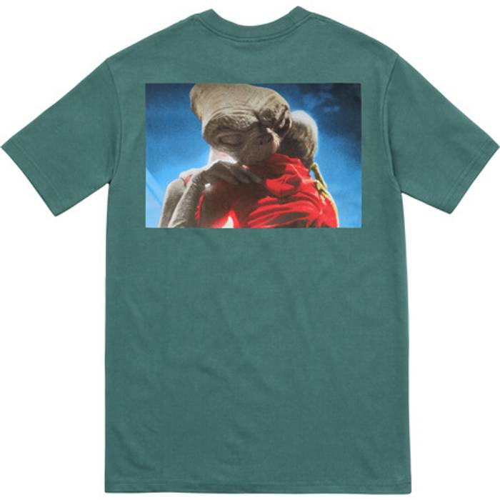 Supreme E.T. Tee Dark Teal Size m - Short Sleeve T-Shirts for Sale ... 0b809f11c