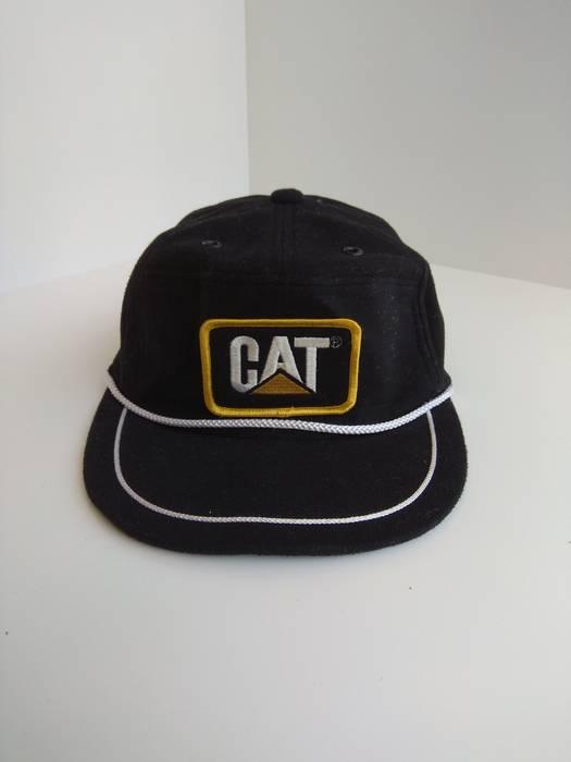 Vintage Vintage 80s Canterpillar Hat Cap big logo Size one size ... 013cc2ea295