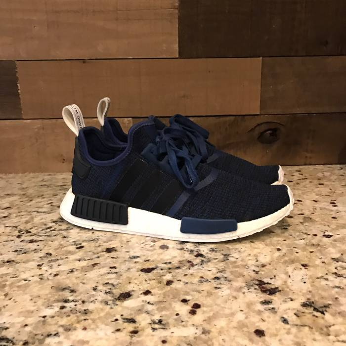 86fb9657fd06e Adidas NMD R1 Mystery Blue • Navy • Black Size 9.5 - Low-Top ...