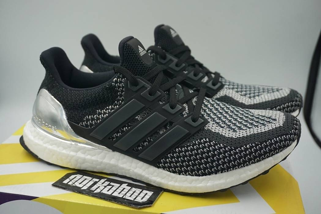 f36f4bc916 Adidas Adidas Ultra Boost 2.0 Silver Medal LTD Olympic Pack BB4077 ...