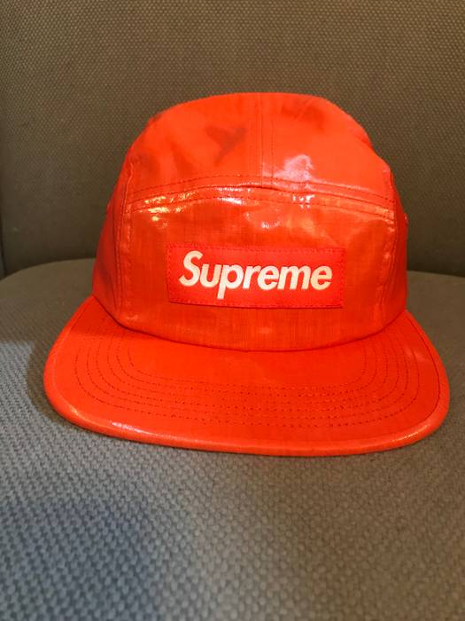 Supreme Supreme Orange Lennon Camp Hat Size one size - Hats for Sale ... c168085c6ac