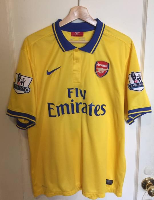 Nike. Nike Arsenal Away Jersey 2014 2015 Jack Wilshere Authentic EPL ... c67593a87aa5