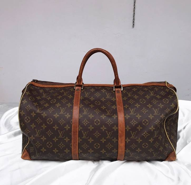 9811ef644604 Louis Vuitton. Louis Vuitton Duffle Bag Keepall 50 Monogram vintage. Size  ONE  SIZE