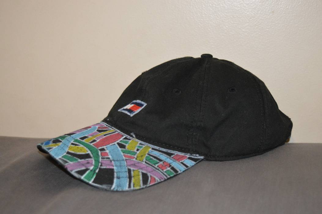 Tommy Hilfiger custom hat Size one size - Hats for Sale - Grailed 959457239e1