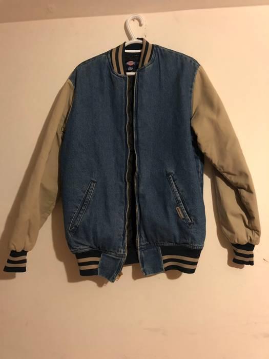 Vintage Vintage Dickies Denim Varsity Jacket Size M Denim Jackets
