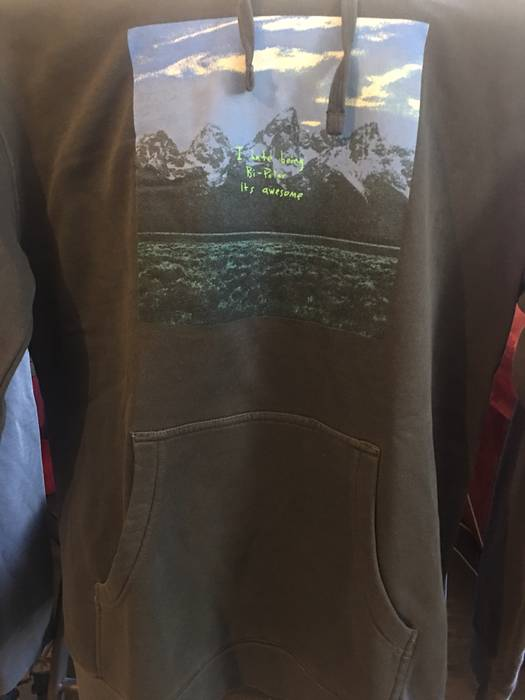 kanye west hoodie new merch Wyoming album listening YE the